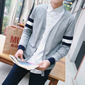 M-2XL Sweater Men Autumn Mens Sweaters Stylish Casual Long Sleeve Slim Fit V Neck Cardigans Masculinos S28
