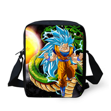 Dragon Ball/Son Goku Messenger Bag For Boy Girl Cartoon Small Crossbody Handbag Women Children 9 inch Travel Shoulder Tote