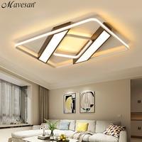 Mavesan Acrylic ceiling lights led for living room Plafond home 10 25square meters Lightin fixtures lampe lampe led plafond