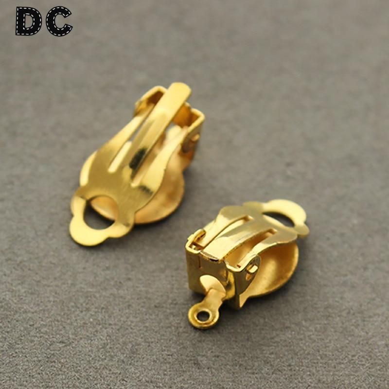 Dc 30pcs Lot Gold Rhodiun Antique Bronze Color Pierced