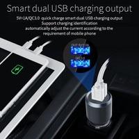 fm tf FM Transmitter Bluetooth U Disk TF DAB receiver Wireless Handsfree Car Kit With LCD Display Supports DAB  QC3.0&1A USB Cargador (3)