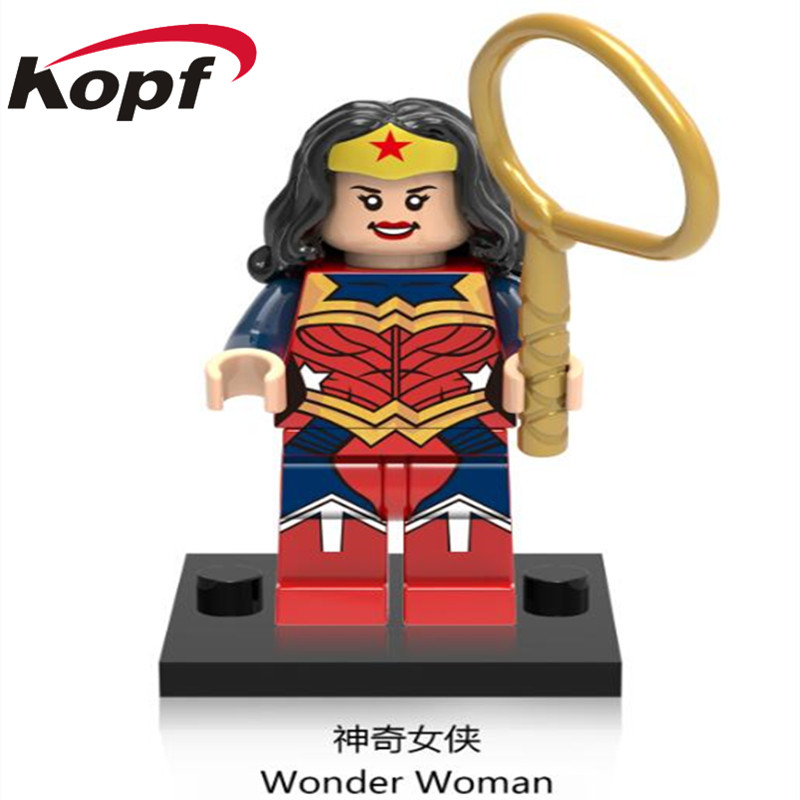 Single Sale Super Heroes Wonder Woman Spiderman Garnage Batman Catwoman Building Blocks Best Collection Toys for children XH 687 single sale pirate suit batman bruce wayne classic tv batcave super heroes minifigures model building blocks kids toys gifts