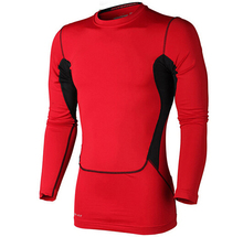 New o-neck solid breathable Men Sport Suit Running Football Jersey Soccer Training Tracksuit t-shirt