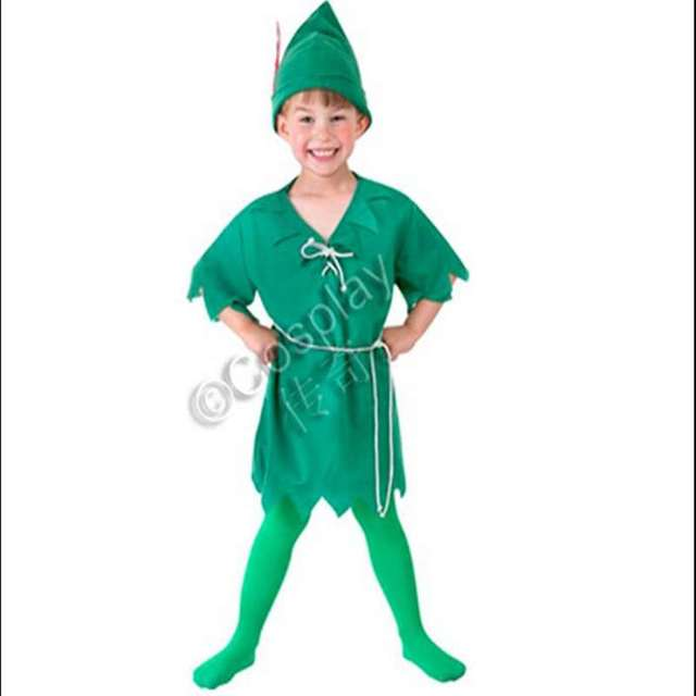 peter panpeter pan costumes halloween cosplay clothing childrens clothing stage performance