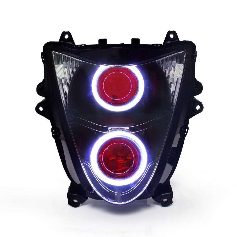 KT LED Phare pour Suzuki Hayabusa GSX1300R 2008-2017