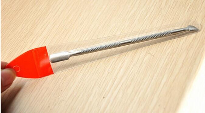 т08 7493 новый полукруглый возглавляемых ногтей инструменты из нержавеющей стали кутикулы общая Levi воскресение