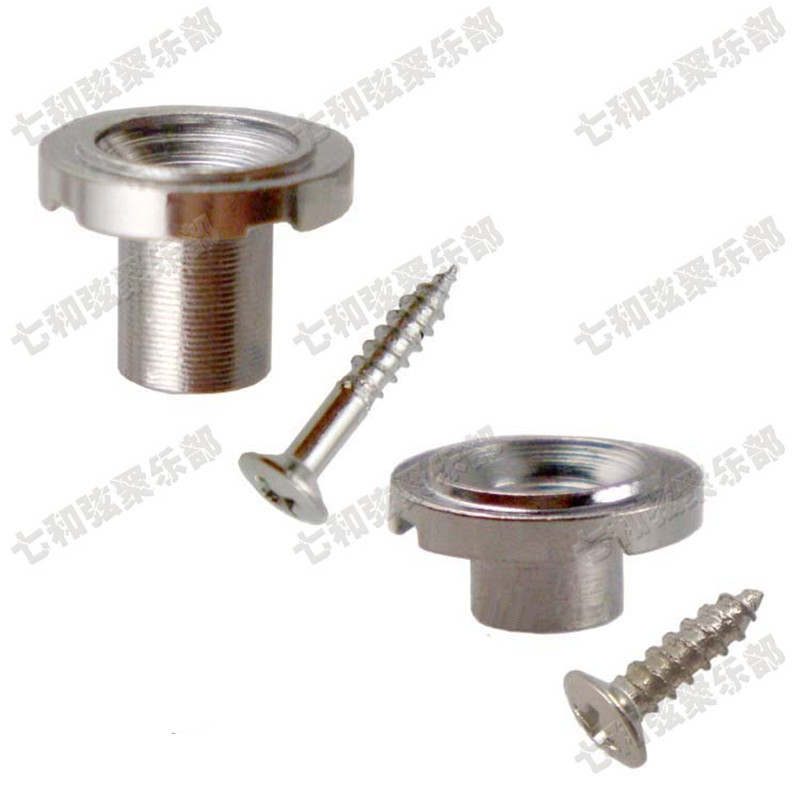 10 Sets Chrome Guitar String Retainers Roller Tree Free shipping