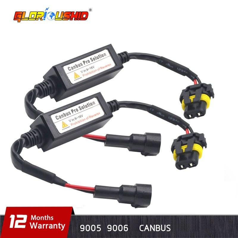 error Free Canbus Decoder for Led Headlight for Car Led headlight Bulbs Fog font b Lamp
