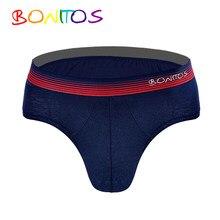 01a4fb4564c3 Para Hombre Ropa interior Sexy hombres suspensorio de algodón de los  hombres para hombres Bikini de