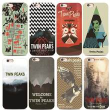 Welcome Twin Peaks For iphone 4s 5 5s 6 6s 7 8 plus for Samsung s4 s5 s6 s7 Edge A5100 A720 S8 plus Hard plastic phone case(China)