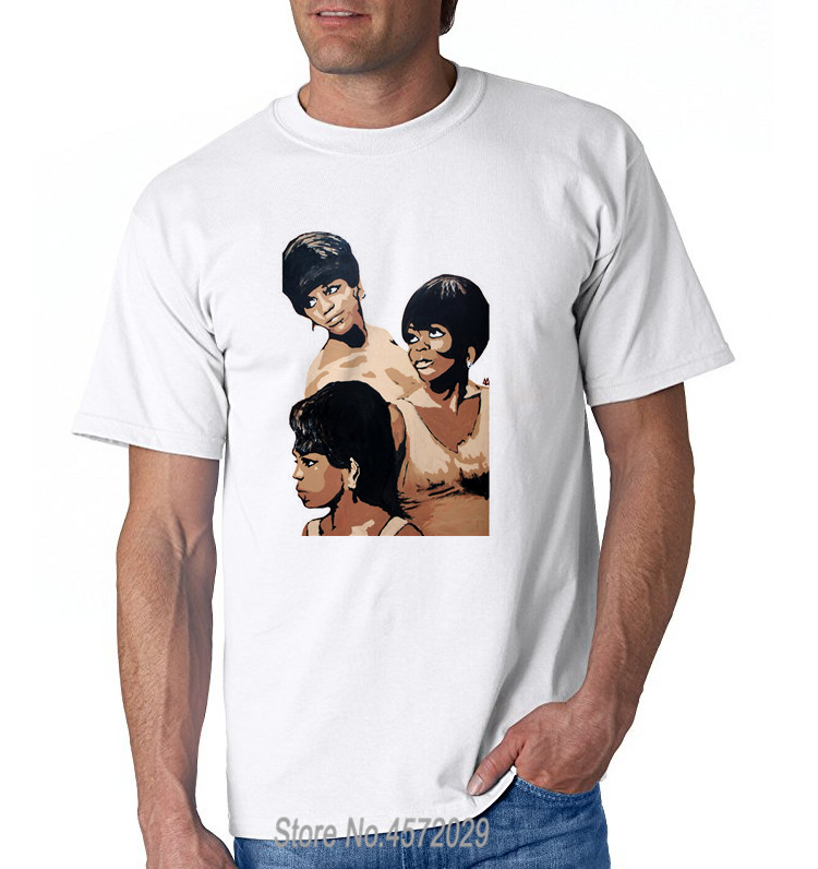 Tshirt Hipster Cool O Neck Tops Diana Ross Ross Men's Round Neck Personal Tee Shirt euro size