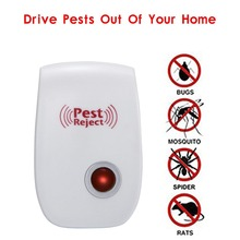 US PLUG Electronic Ultrasonic Pest Repeller Mosquito Rejector Mouse Rat Mouse Repellent Anti Mosquito Repeller Killer Rode
