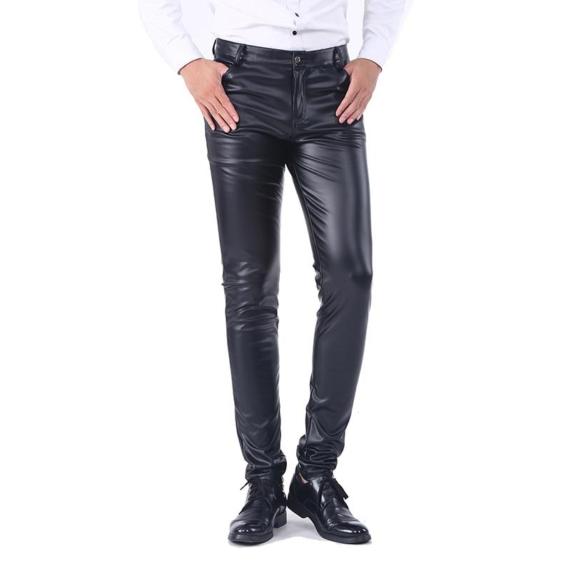 Unique Idopy Men`s Business Slim Fit Five Pockets Stretchy Comfy Black  FF87