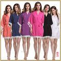 Sexy Ladies оттон Шелк Ночь платье Платье Пижамы Babydoll Пижамы M-XXL HJWQ43