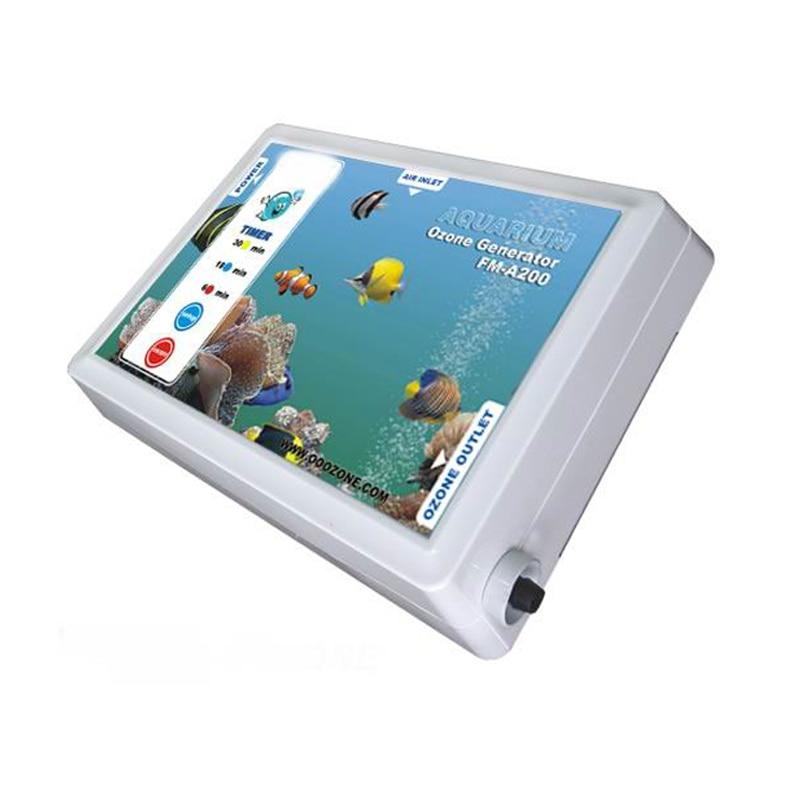 Mini Portable Aquarium Ozone Generator Gerador De Ozonio 220V 200mg/hr FM-A200 commercial portable medical ozone generator for hospital 600mg hr fm c600 ozonizer