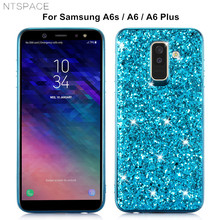 Luxury Bling Glitter Cases for Samsung Galaxy A6S A10E A20E A30 A40 A50 Flash Powder Case A60 A70 A80 Cover