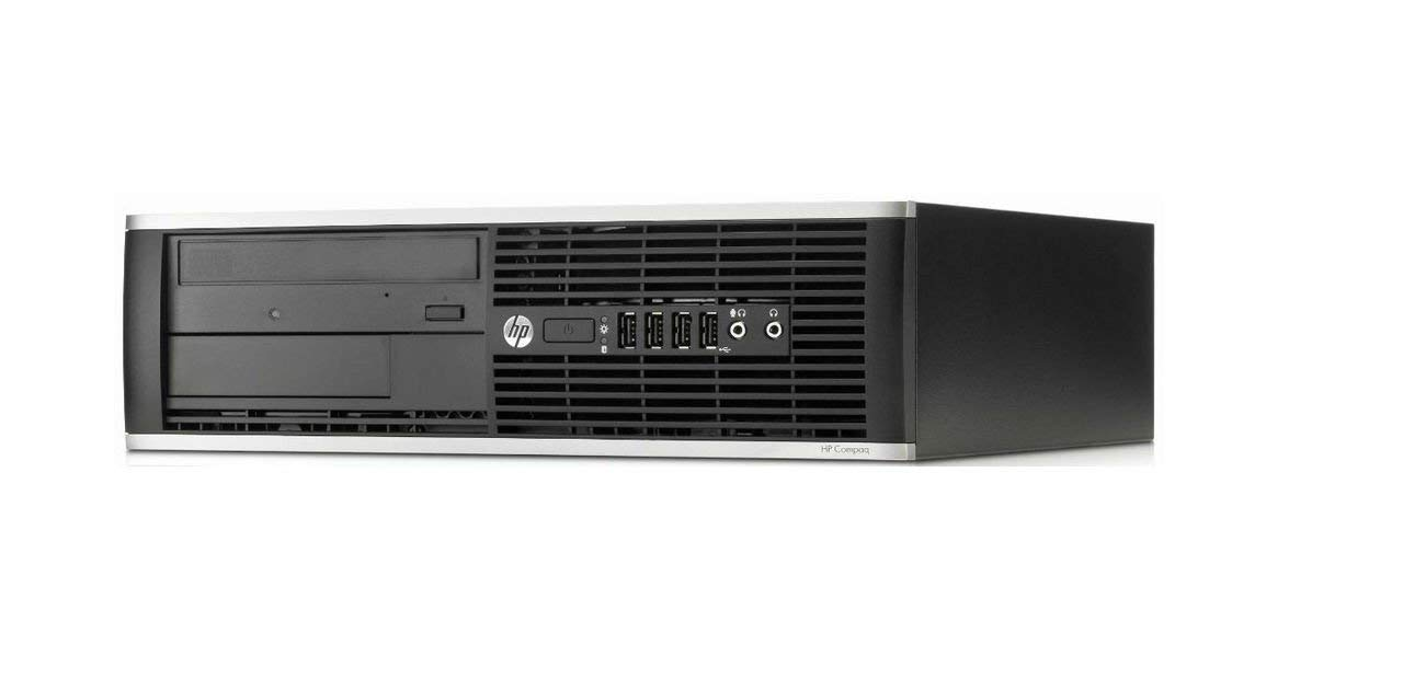 Hp Elite 8300 - Ordenador De Sobremesa (Intel  I7-3770, Lector 8GB De RAM, Disco SSD De 960 GB, Windows 7 PRO ) - Negro (Reacondicionado)