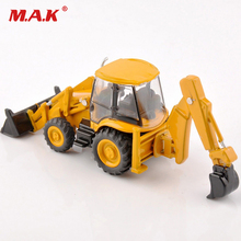 1/87 3CX-4T multifuctional excavator bulldozer model loader construction vehicles children cheap toys gifts