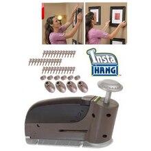 Бесшовные удобно дюбелей ногтей картину стены крюк висит ногтей пистолет, как видно на ТВ повесить что-либо в течение нескольких секунд
