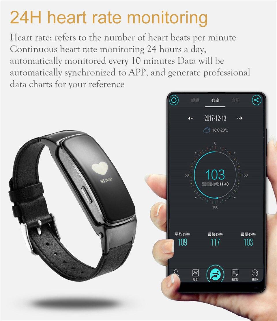 YKSO Bluetooth Smart band With SIM Card  smart bracelet B3 Plus Smart Wristband Heart Rate Monitor Smart band  (10)