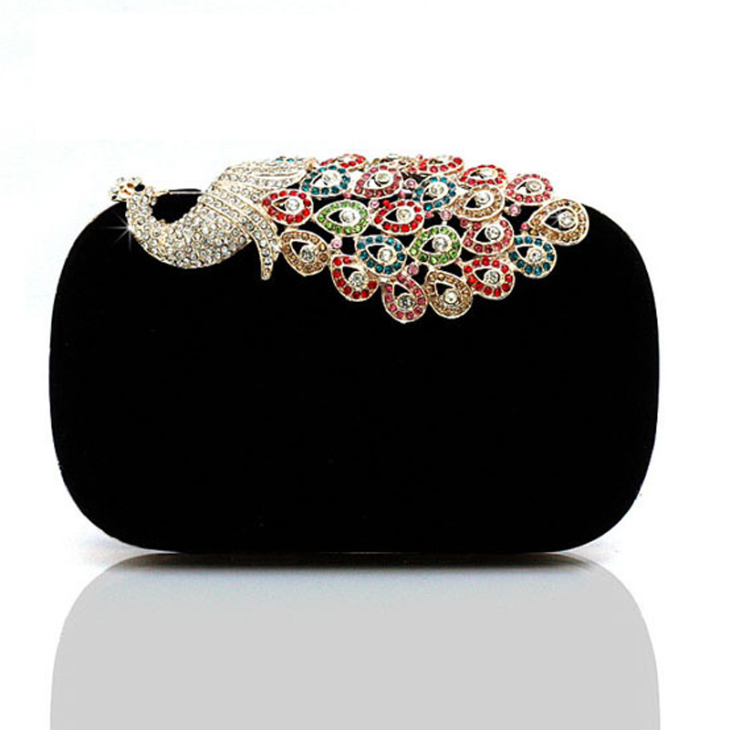 Diamond Rhinestone Women Evening Bag Women Clutch Bags Crystal Wedding Bridal Handbags Purse Bags Party Banquet Wallet