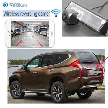 YESSUN car new hd wireless rear camera for Mitsubishi Pajero Sport Pajero Dark 2008~2015 for Mitsubishi Colt Plus 2002~2012