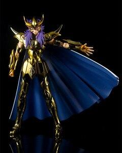 Image 5 - MC metalowy klub Saint Seiya tkanina mit EX złoto skorpion modele Milo metalowa tkanina