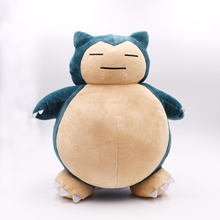 1PCS 12inch30cm Toy Snorlax Plush Anime New Rare Soft Stuffed Animal Doll For Christmas Gift Free Shipping