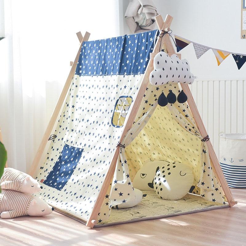 Детская палатка, большой Крытый игровой домик для мальчиков и девочек, игрушечный домик, Игровая палатка, большой раздельный артефакт, игро... - 4
