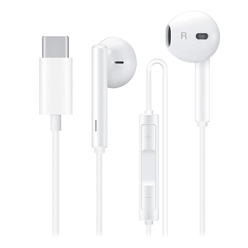 In-Ear Earphones HUAWEI Control-Stereo Lossless Sound-Quality CM33 Type-C USB for P20