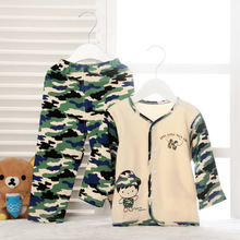 autumn baby cotton underwear suits children's pajamas men and women Home Furnishing long johns baby clothing two sets