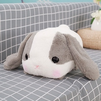 Rabbit Dolls Plush Classical Lying Bunny Rabbit Toy Amuse Lolita Loppy rabbit Kawaii Plush Pillow for Kids Friend Girls 2