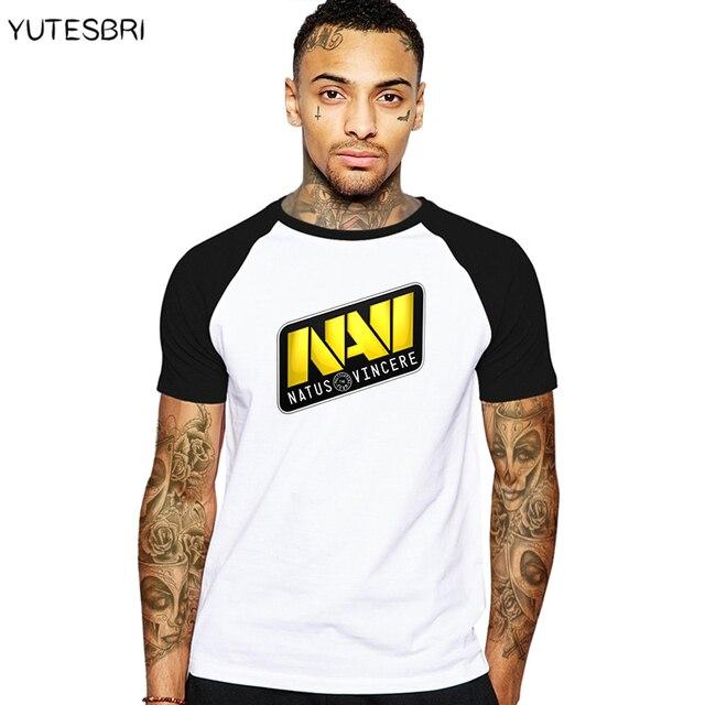 Новая модная мужская футболка dota 2 одежда Natus Vincere Team Логотип Geek футболка Летняя хлопковая Дрейк брендовая одежда