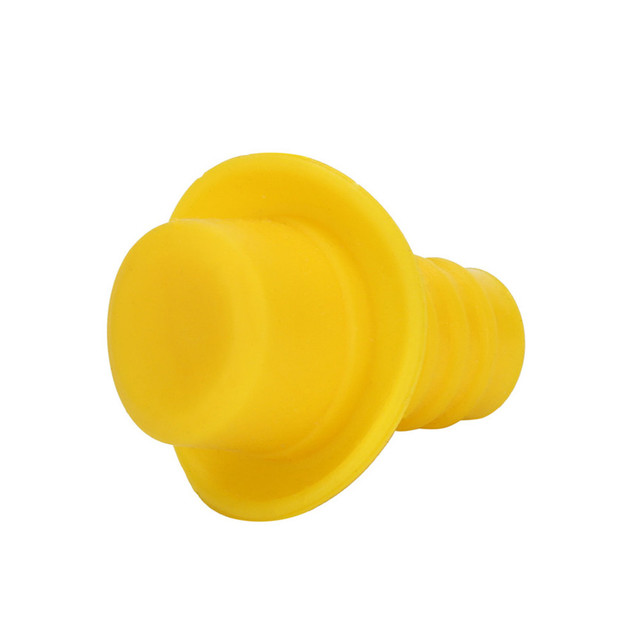 Hat Shaped Silicone Vacuum Bottle Stopper