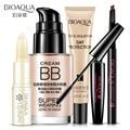 Maquillaje Conjunto 5 unids Crema En Polvo Crema Aislamiento + Agua + lápiz de cejas + Mascara + Bálsamo Labial Cuidado Facial Herramientas conjuntos