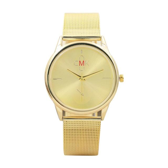 2018 New Quartz Couple Watch Fashion Business Multicolor Stainless Steel Mesh St