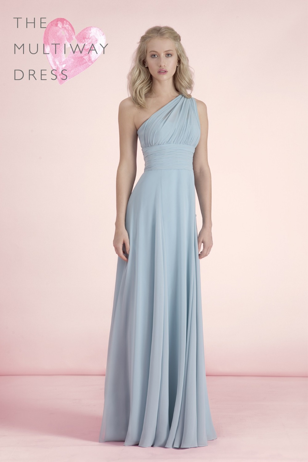 Compare prices on simple blue dress for wedding online shopping 2016 new arrival charming simple chiffon one shoulder light blue sleeves long bridesmaid dresses for wedding ombrellifo Choice Image