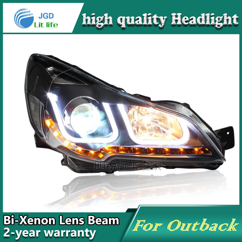 high quality Car Styling case for Subaru Outback Headlights 2010 ...