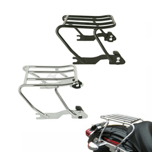 Motorcycle Detachable Solo Luggage Rack For Harley Sportster 1200 Custom XL1200C XL1200S 883 XL883C XLH883 1996-2003