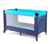 Многофункциональная Съемная портативная складная детская игровая кроватка детская кровать для малыша детская мебель