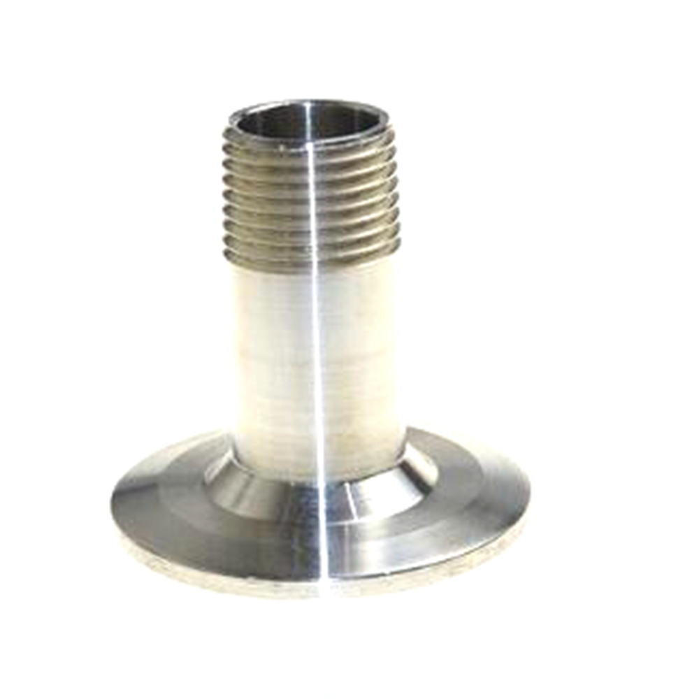 1/2 NPT Sanitary Male Threaded Ferrule Pipe Fitting Tri Clamp Type Stainless Steel SS304 SS001 1 4 1 npt female x 1 5 tri clamp 304 stainless steel sanitary pipe fitting connector for homebrew ferrule od 50 5mm