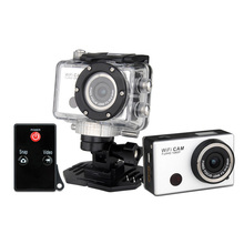 Full hd 1080 P 30fps водонепроницаемый wi-fi действие цифровая видеокамера/лучший горячий продавать спортивные камеры цифровая видеокамера freee доставка
