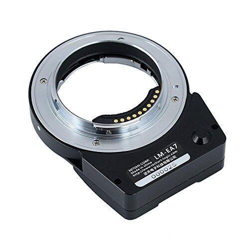 NEW TECHART LM EA7 6.0 II Auto Focus Lens Adapter for Leica M LM Lens to Sony NEX A7RII A6300 A9 A7SII Cameras Lens Adapter