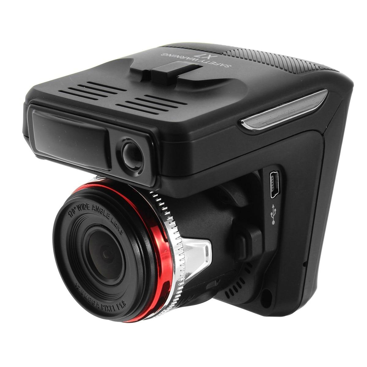 2.4 ''Câmera DVR Carro Anti Detector De Radar A Laser Gravador de HD 720 P de Vídeo Digital Sistema de Alarme Embutido