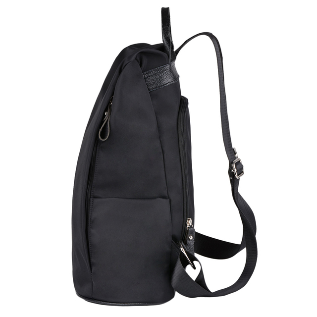 Coofit Designer Womens Brand Backpack Fashion Nylon Waterproof Anti Theft Travel Bagpack School Bookbag For Girls Teens Mochila Cosmetic Bags