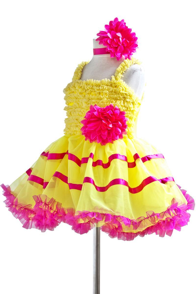 Žuti balet Profesionalni tutu Giselle Baletni kostimi Dame Klasični - Karnevalske kostime - Foto 2