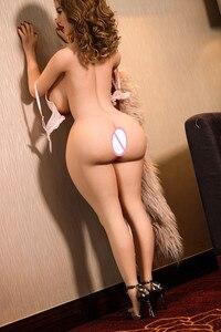 Image 4 - Ailijia 152 centimetri Big ass con il seno Grande bambola del sesso Pieno TPE Con lo scheletro In Metallo Ue Adulto bambola di Amore Grande glutei sexy