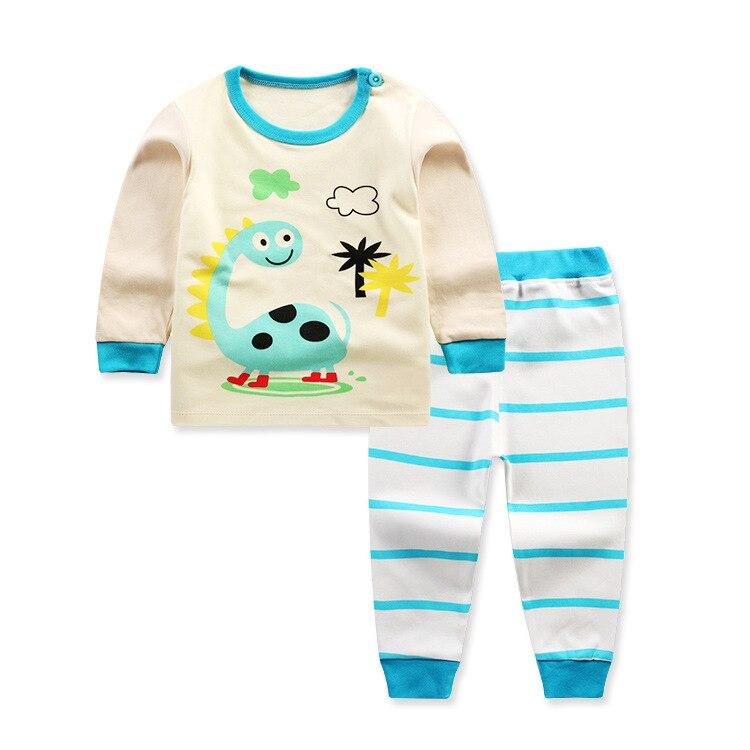 635fc01baf08f 2017 printemps Animal vêtements pour enfants ensembles enfants vêtements  hibou pyjamas filles T shirt pantalon bébé garçons costume coton à manches  longues ...