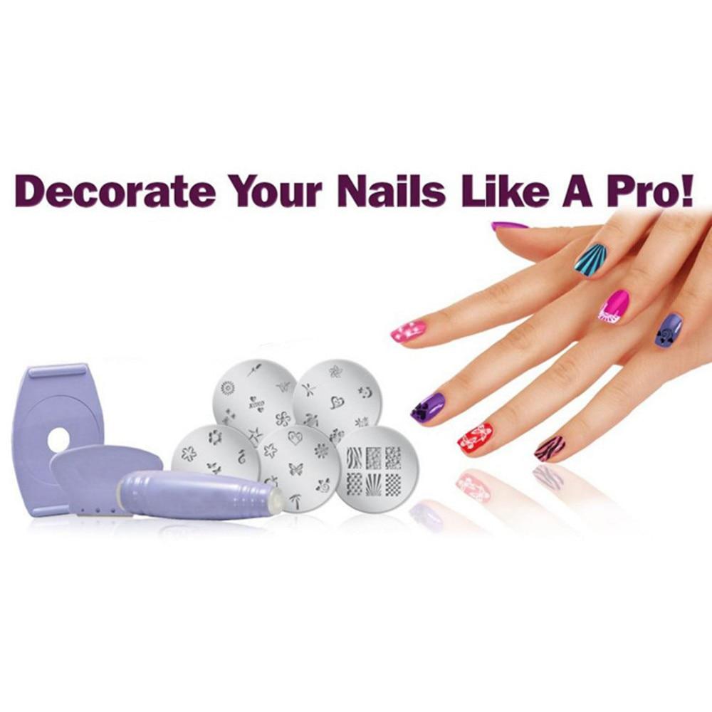 Pinkiou Beauty Express Salon Easy Nail Art Printer Portable Nail ...