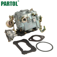 Partol Car Engine Carburetor Carb for Chevrolet Engine Models 350/5.7L 1970-1980 400/6.6L 1970-1975 Zinc Alloy Auto Carburetor